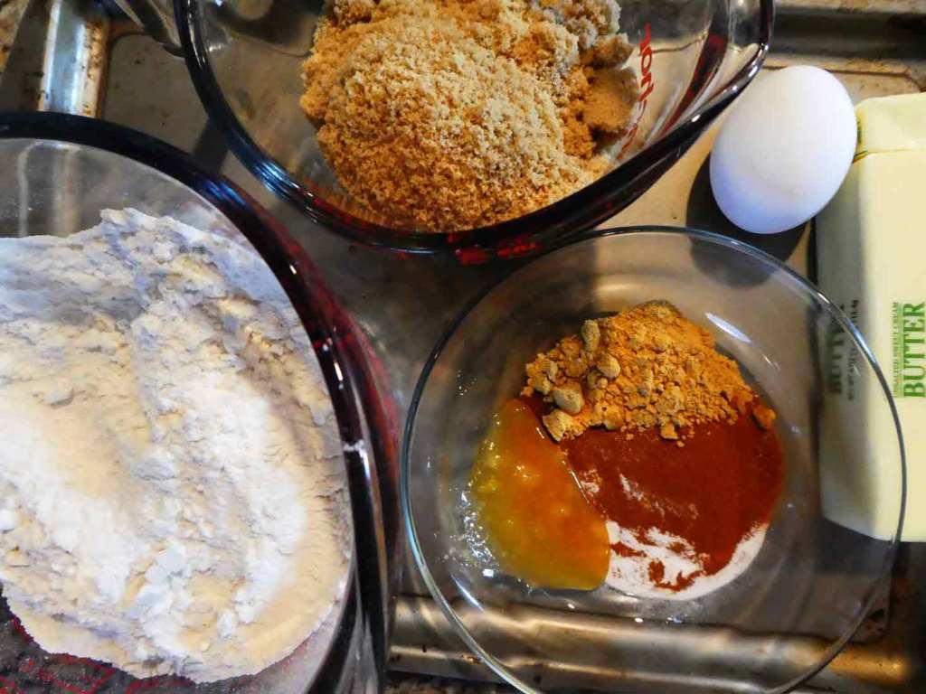 Gingerbread Biscuit - Step 0 - Ingredients