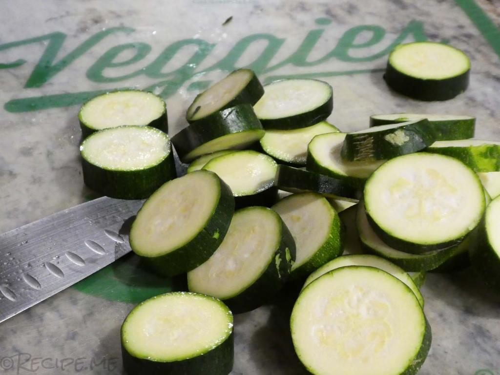 How to Make Greek Moussaka Step 2 Cut Zucchini