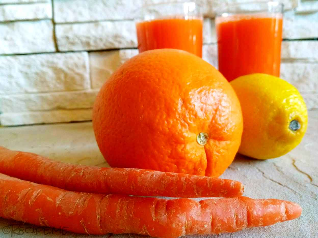 An Italian Juice called Ace: Carrot, Orange, Lemon