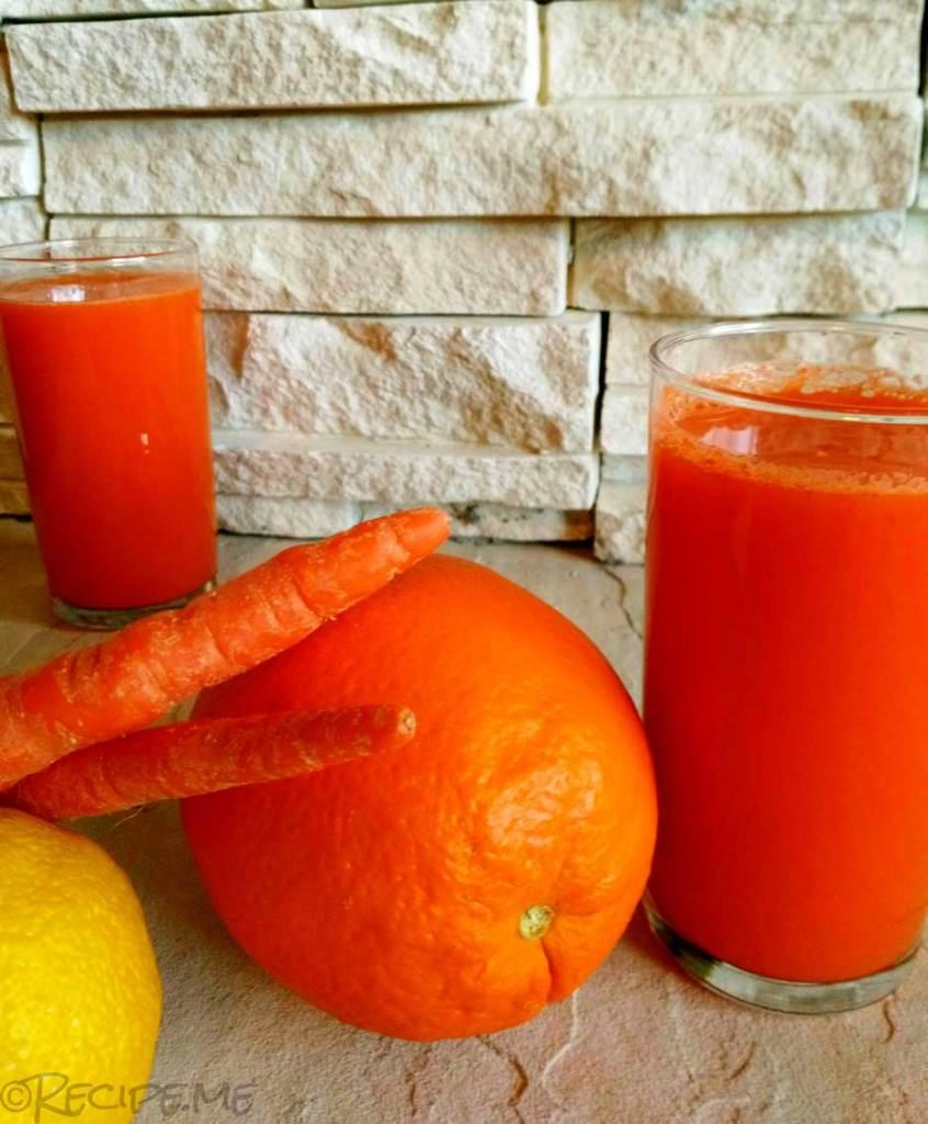 Ace: Carrot, Orange, and Lemon, an Italian Juice