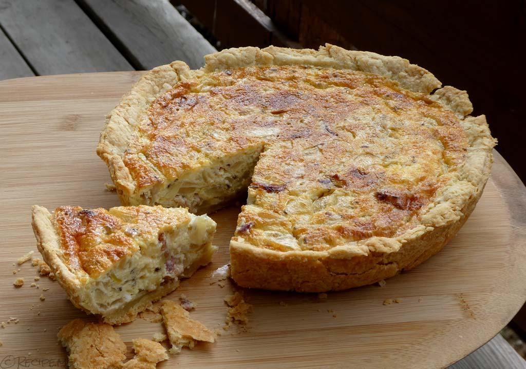 How to Make Zwiebelkuchen (German Onion Pie)