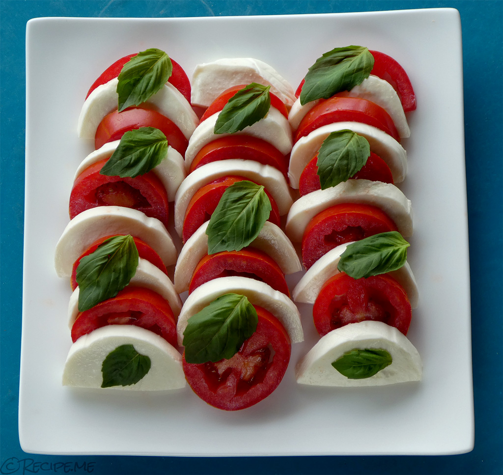 How to make an Italian Caprese Salad