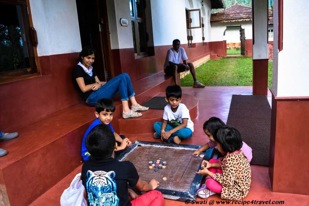 Carrom to keep them busy