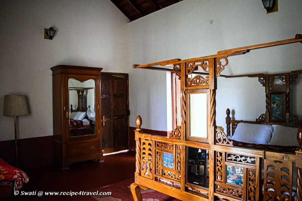 Our room with its old world charm intact