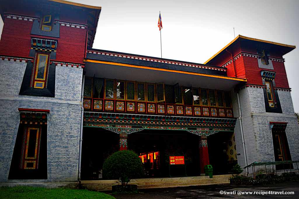 Tibet architecture of Namgyal Institute of Tibetology