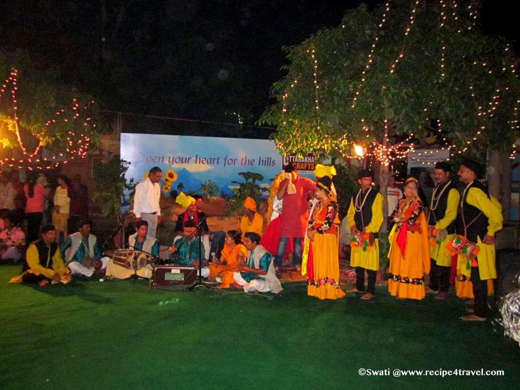 Cultural programs at Dilli Haat