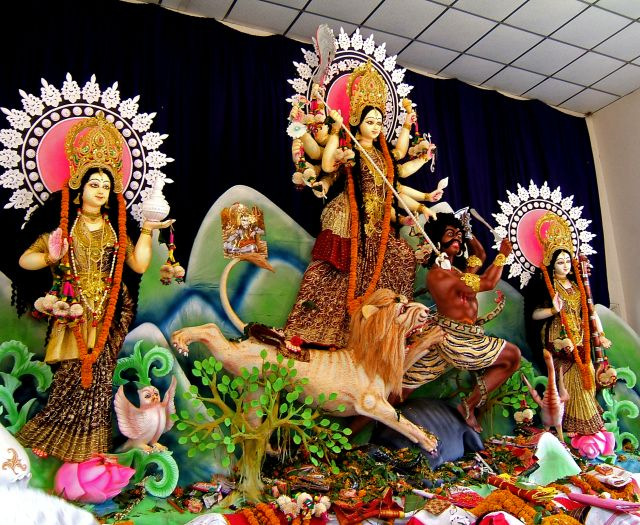 Goddess Durga Photo Credit: Rajiv Ashrafi via Compfight cc