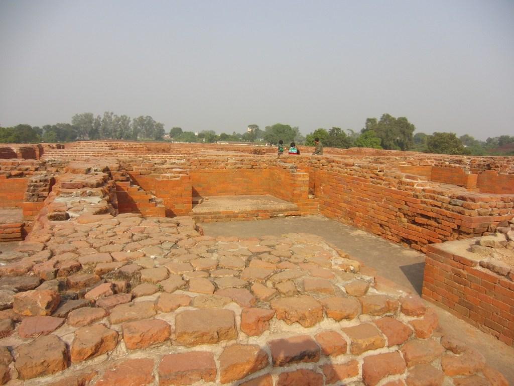 Ruins of monasteries or viharas where students resided Photo Credit: CroDigTap via Compfight cc