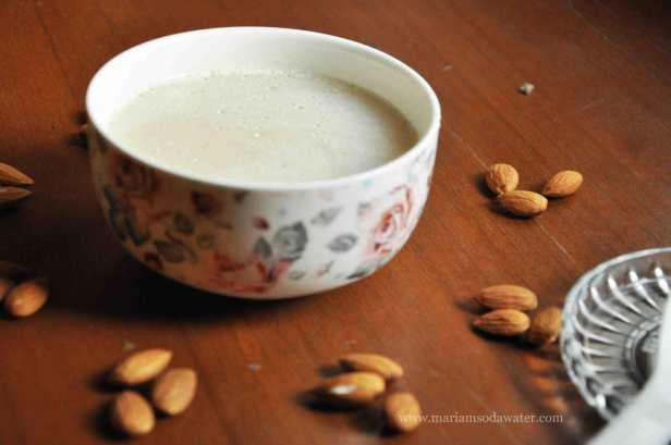 Chicken almond cream soup recipe