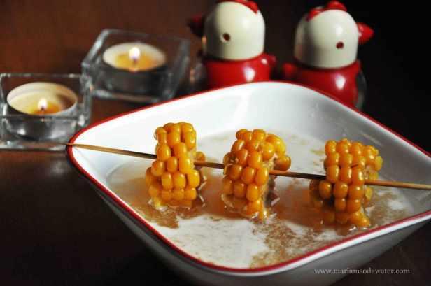 sweet corn coconut soup recipe