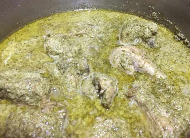 Green Chutney Masala Chicken recipe