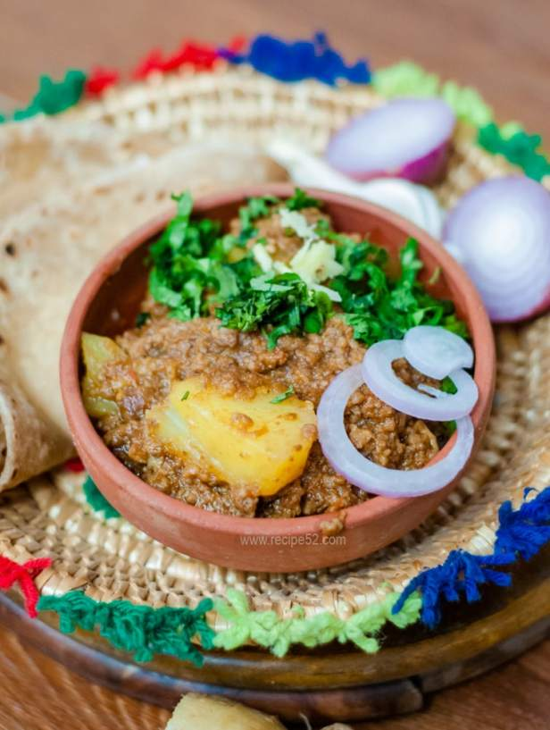 aloo keema recipe pakistani