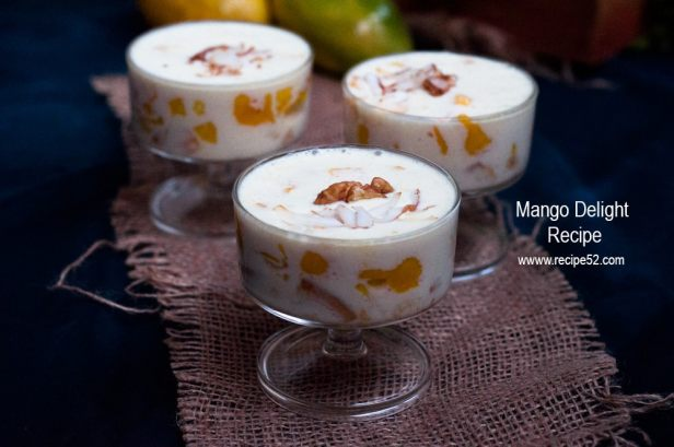Mango delight recipe