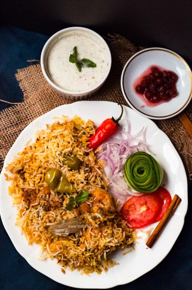 Pakistani Chicken Biryani Recipe Step By Step With Photos