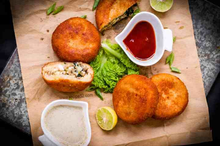 Aloo keema Patties