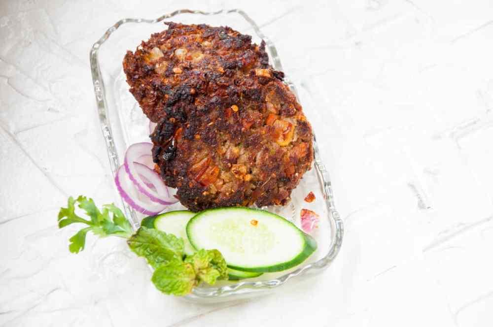 Chapli Kabab Recipe Pakistani   Step by step with photos
