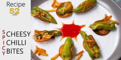 Cheesy Chilli bites recipe