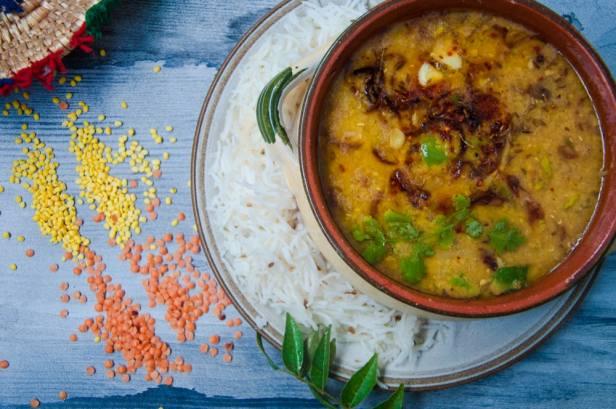 moong masoor daal recipe