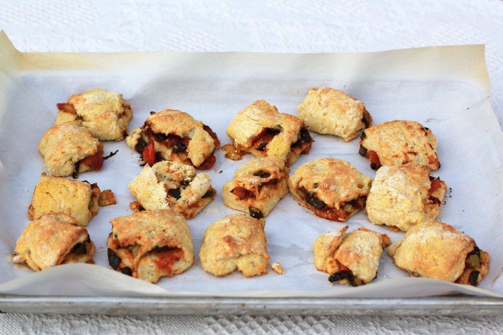 charred tomato poblano biscuits