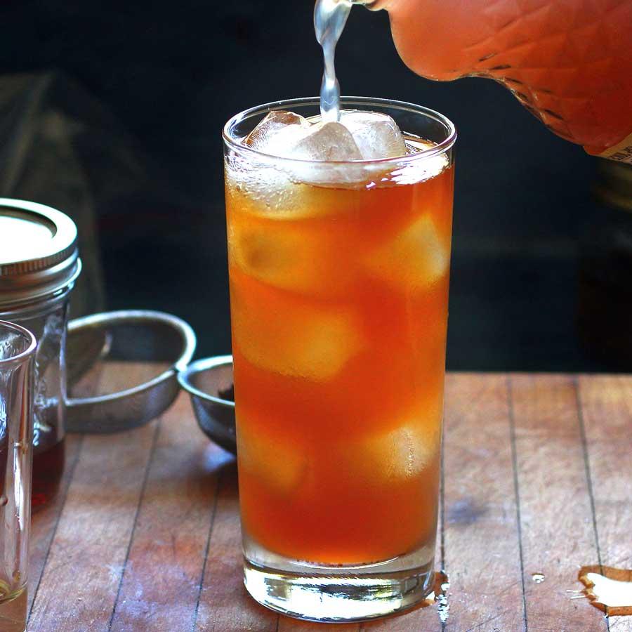 Earl Grey Infused Vodka and Lemonade