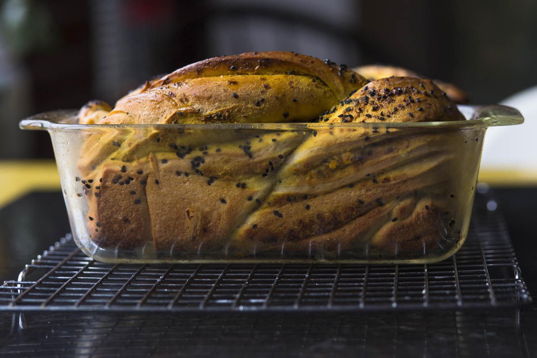 Sesame Turmeric Bread