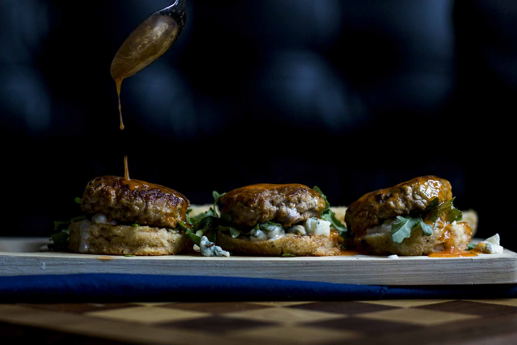 Buffalo Biscuit Sliders
