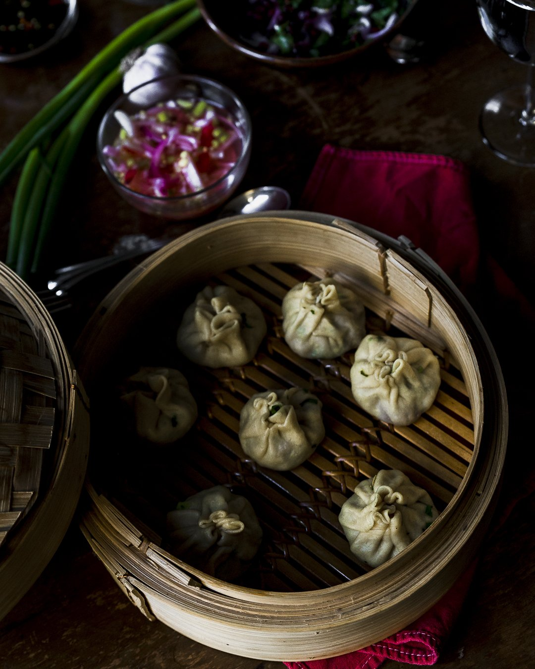 steamed lamb dumplings