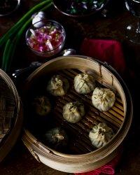 steamed lamb dumplings