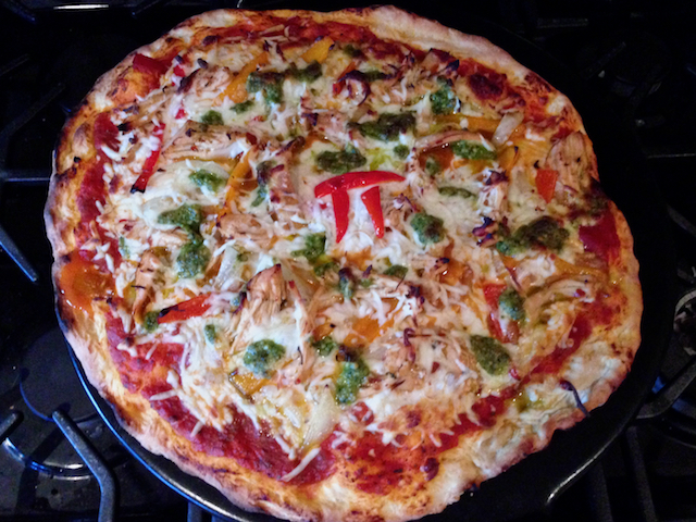 Paul's Pi Day Pizza Pie