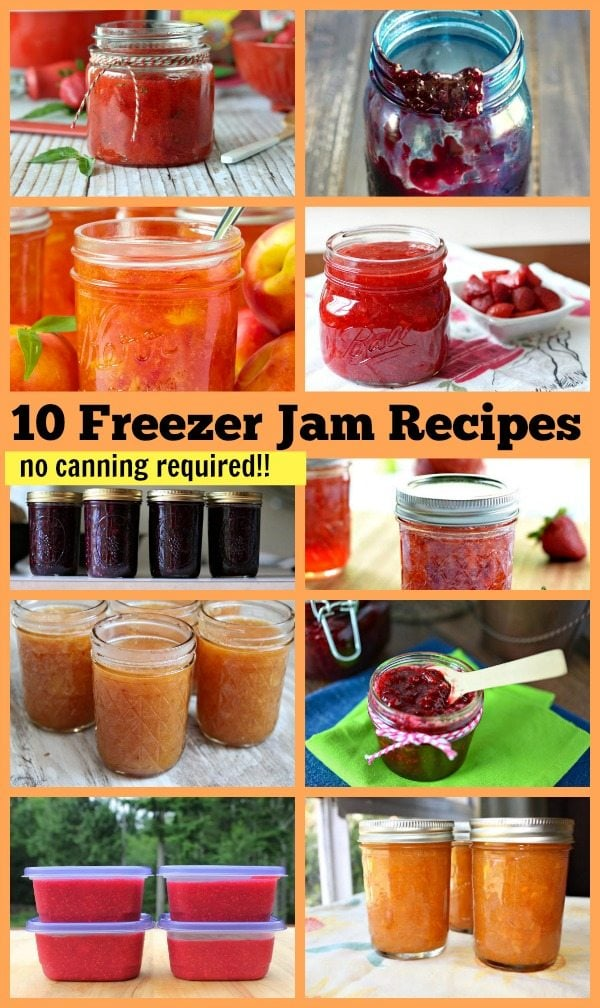 10 Freezer Jam Recipes