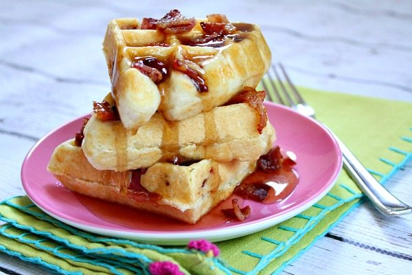 Maple- Bacon Waffles