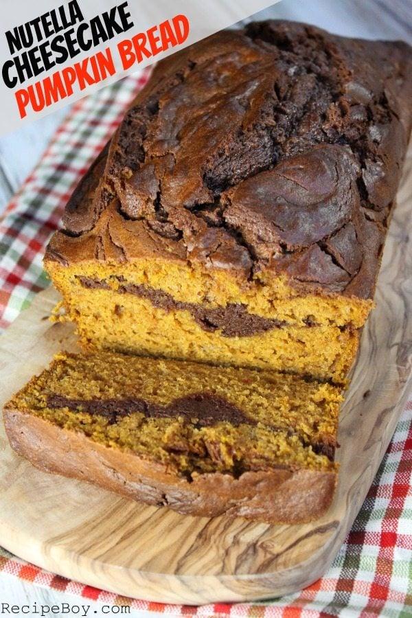 Nutella-Cheesecake-Pumpkin-Bread