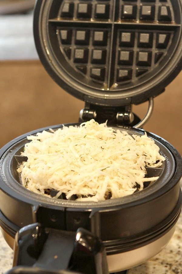 Waffled Hash Browns - Will it Waffle