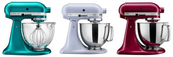 New KitchenAid Mixer Colors