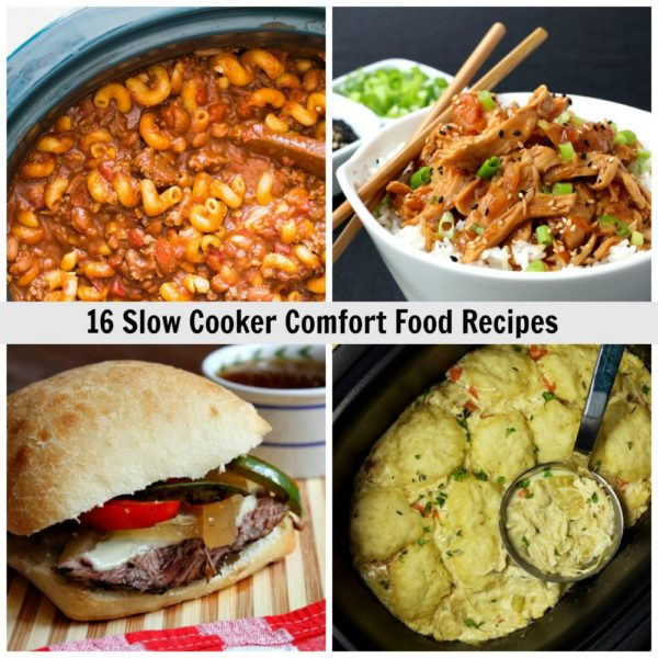 16 Slow Cooker Comfort Food Recipes