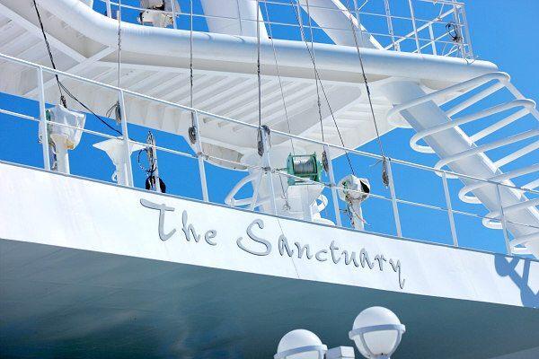 Princess Cruises Relaxing Hideaway: The Sanctuary