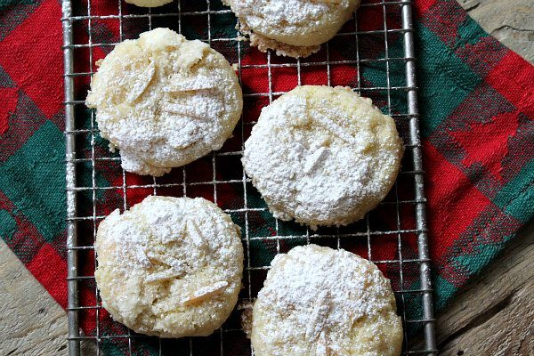 Almond Dream Cookies recipe - by RecipeGirl.com