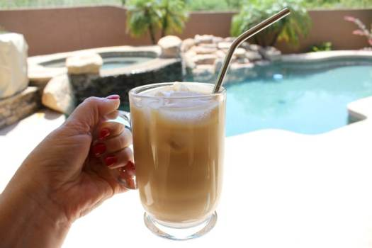 Cold Brew Coffee by the Pool