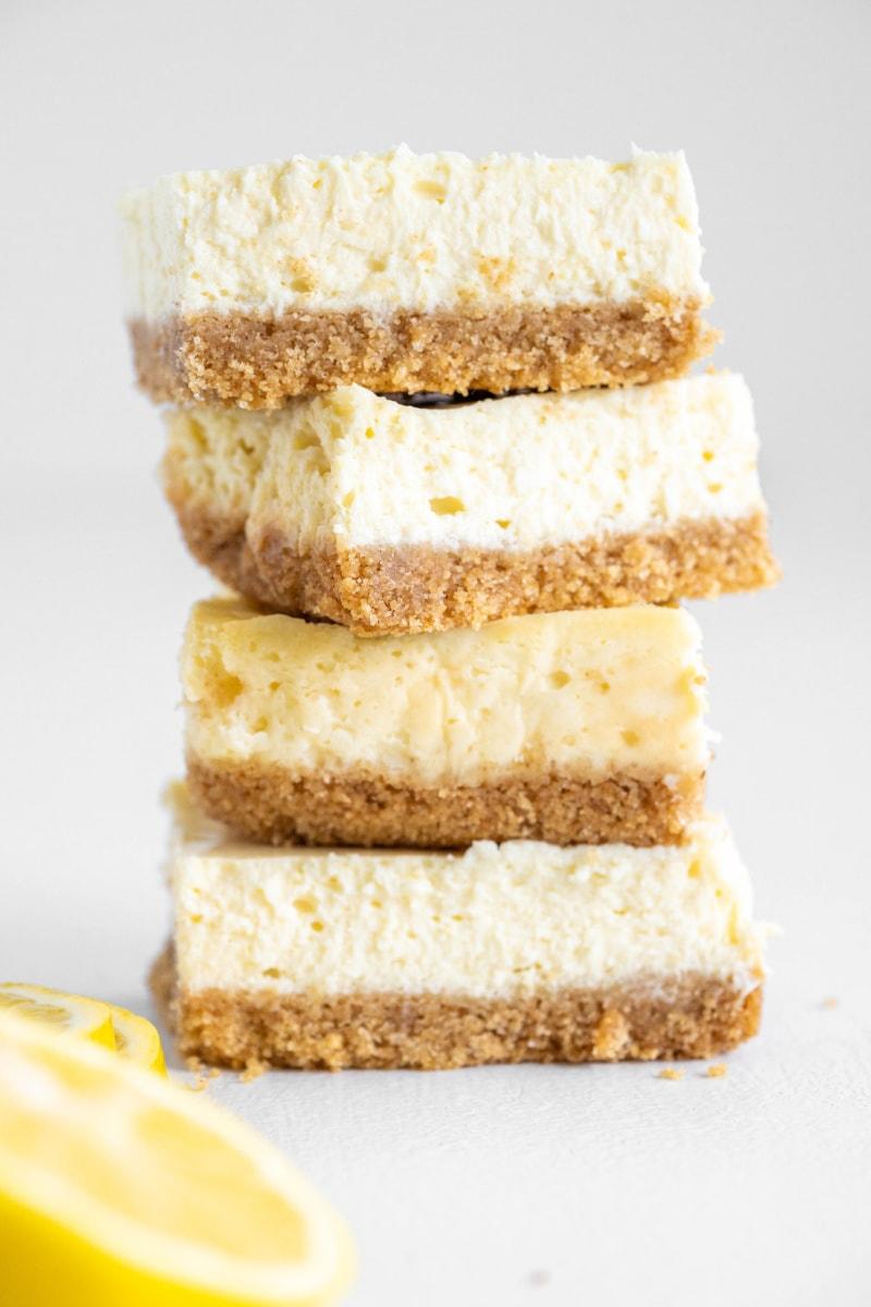 16. Lemon Cheesecake Bars