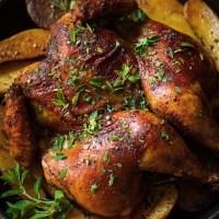 Smoked Paprika and Oregano Roast Chicken