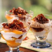 Apricot-Yogurt Parfait with California Granola