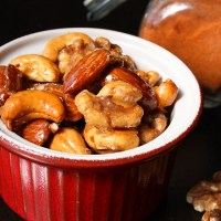 Maple Honey Roasted Nuts