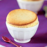 White Chocolate and Lemon Souffles
