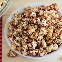 Peanut Butter and Jelly Popcorn