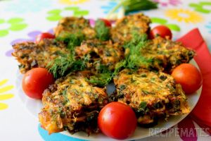 Mucver (Vegetable Fritters)