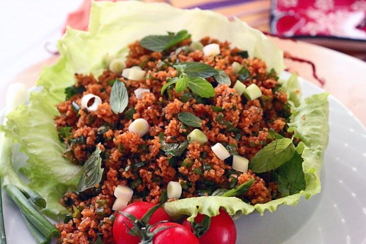 Kisir (Bulgur Salad - Turkish Tabbouleh)