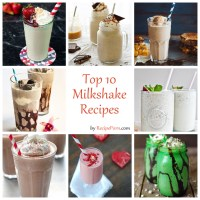 Top-10 Milkshake Recipes