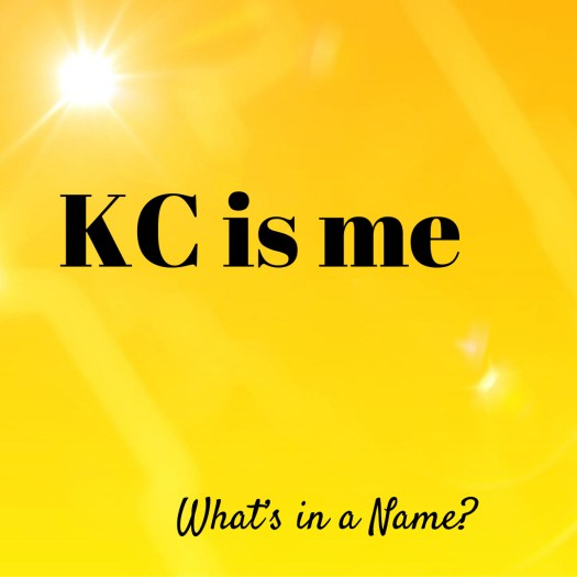 What's in a Name? by KC Shomler Recipes Are Merely a Suggestion