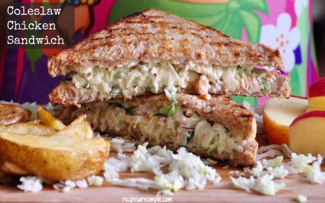 coleslaw chicken sandwich youtube