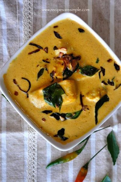 coconut milk fish curry